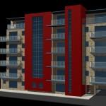 Proposed apartments at Pim street
